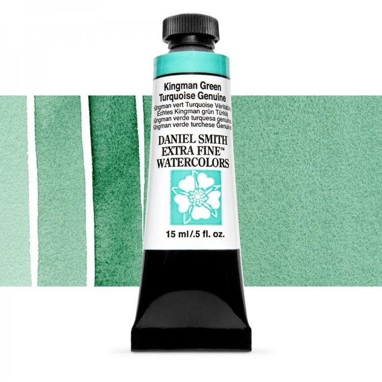 Daniel Smith : Watercolour Paint : 15ml : Kingman Green Turquoise Gen : Series 5