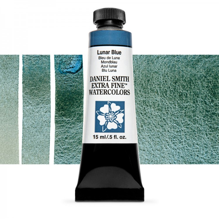 Daniel Smith : Watercolour Paint : 15ml : Lunar Blue : Series 2