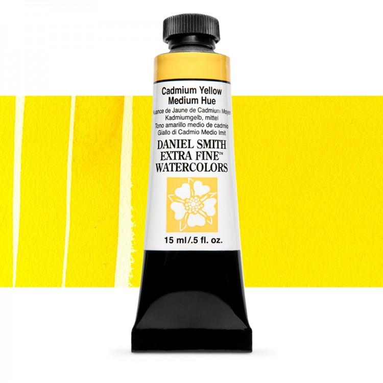 Daniel Smith : Watercolour Paint : 15ml : Cadmium Yellow Medium Hue : Series 3