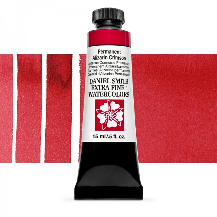 Daniel Smith : Watercolour Paint : 15ml : Permanent Alizarin Crimson : Series 2