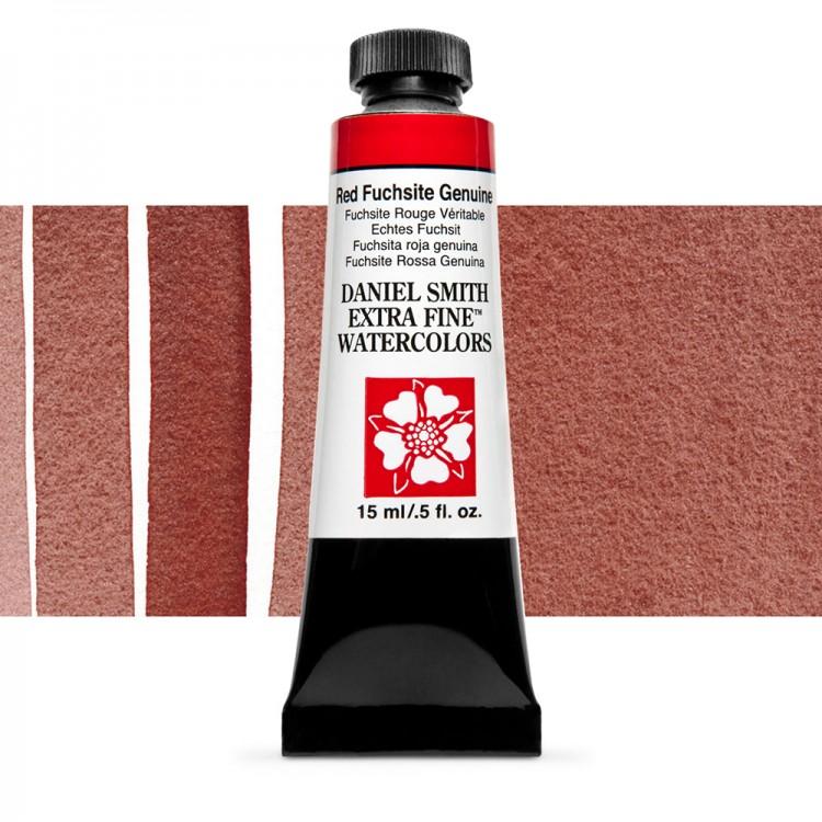 Daniel Smith : Primatek Watercolour Paint : 15ml : Red Fuchsite Genuine : b Series 3