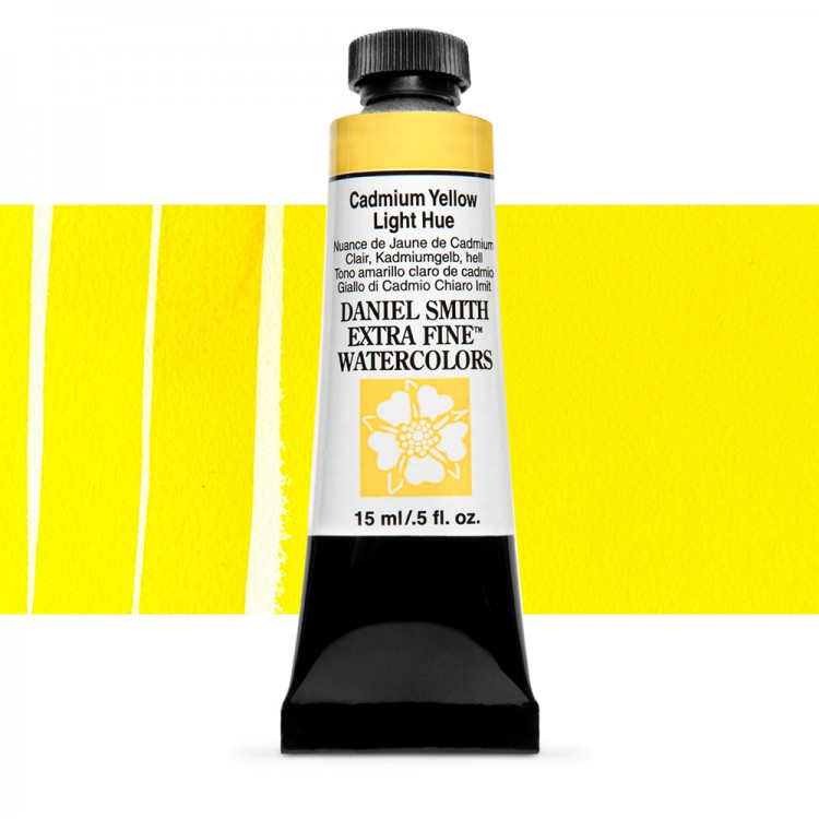 Daniel Smith : Watercolour Paint : 15ml : Cadmium Yellow Light Hue : Series 3