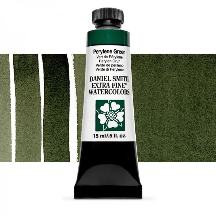 Daniel Smith : Watercolour Paint : 15ml : Perylene Green : Series 2