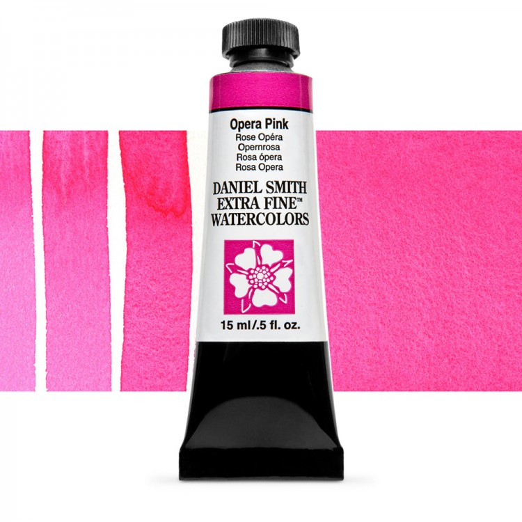 Daniel Smith : Watercolour Paint : 15ml : Opera-Pink : Series 1