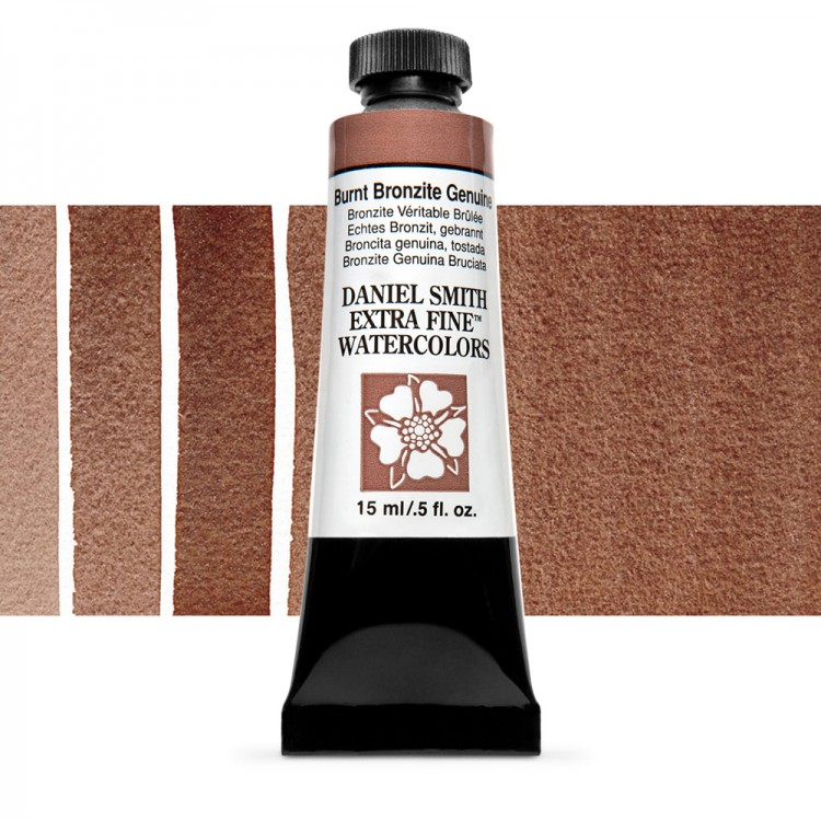 Daniel Smith : Primatek Watercolour Paint : 15ml : Burnt Bronzite Genuine : b Series 3