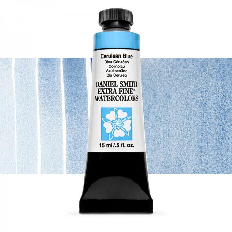 Daniel Smith : Watercolour Paint : 15ml : Cerulean Blue : Series 3