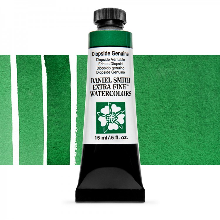 Daniel Smith : Watercolour Paint : 15ml : Diopside Genuine : b Series 3