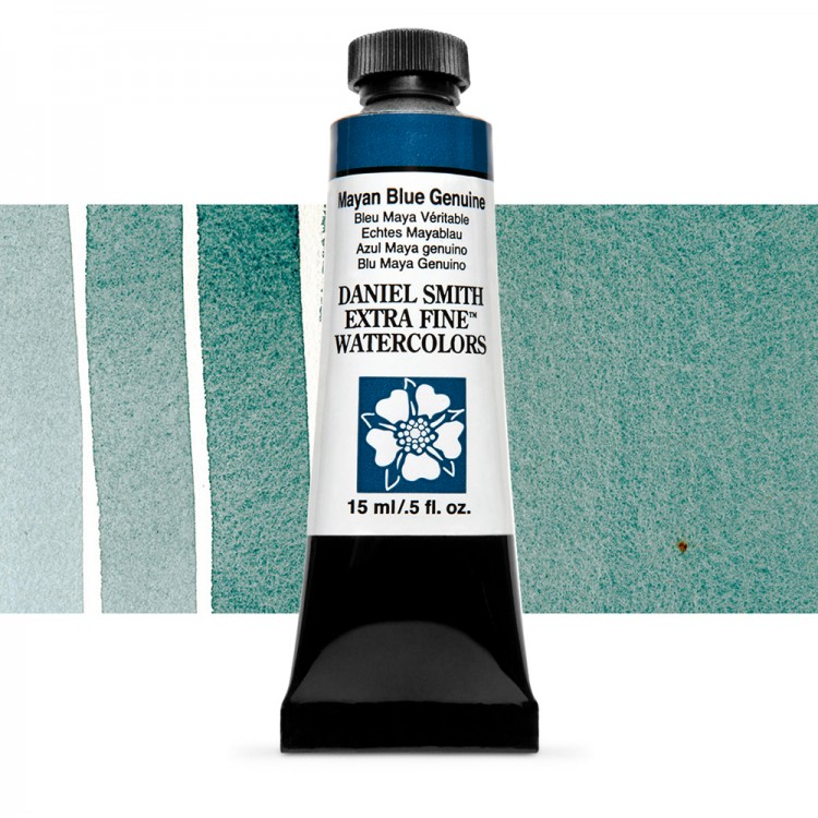 Daniel Smith : Watercolour Paint : 15ml : Mayan Blue Genuine : b Series 3