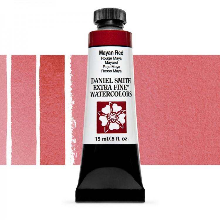 Daniel Smith : Watercolour Paint : 15ml : Mayan Red : Series 3