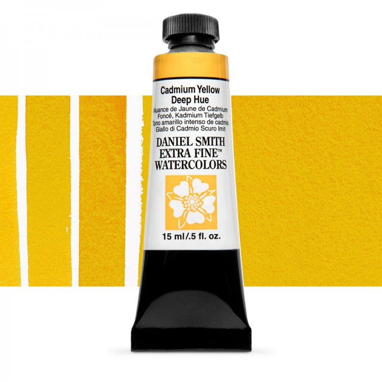 Daniel Smith : Watercolour Paint : 15ml : Cadmium Yellow Deep Hue : Series 3