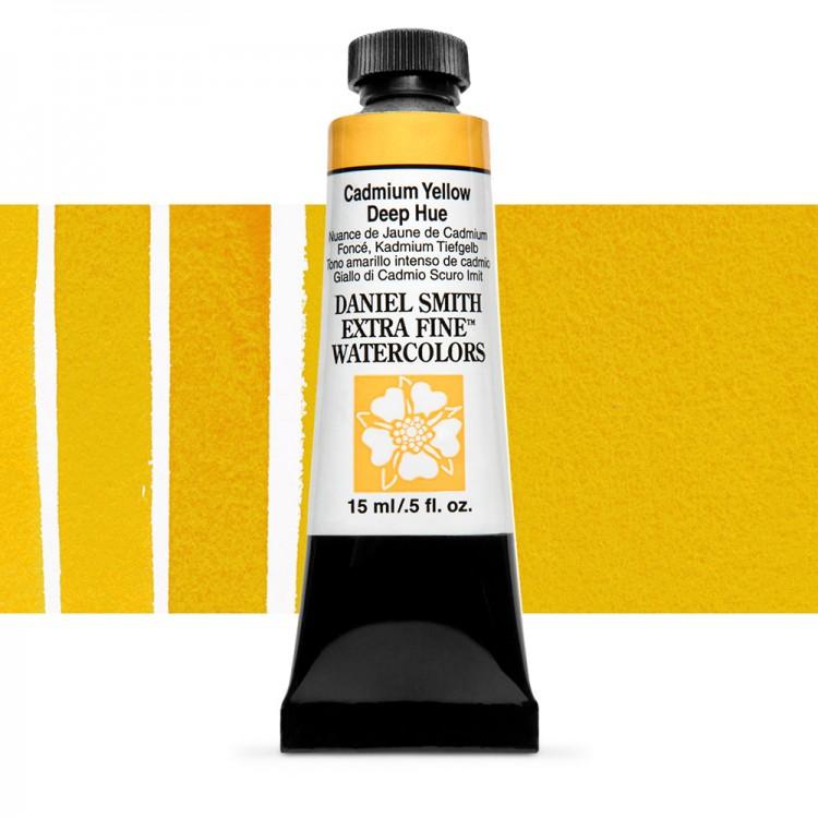 Daniel Smith : Watercolour Paint : 15ml : Cadmium Yellow Deep Hue : Series 3
