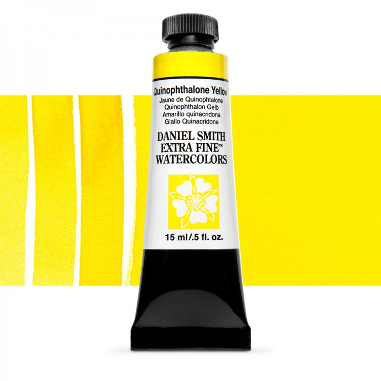 Daniel Smith : Watercolour Paint : 15ml : Quinophthalone Yellow : Series 3