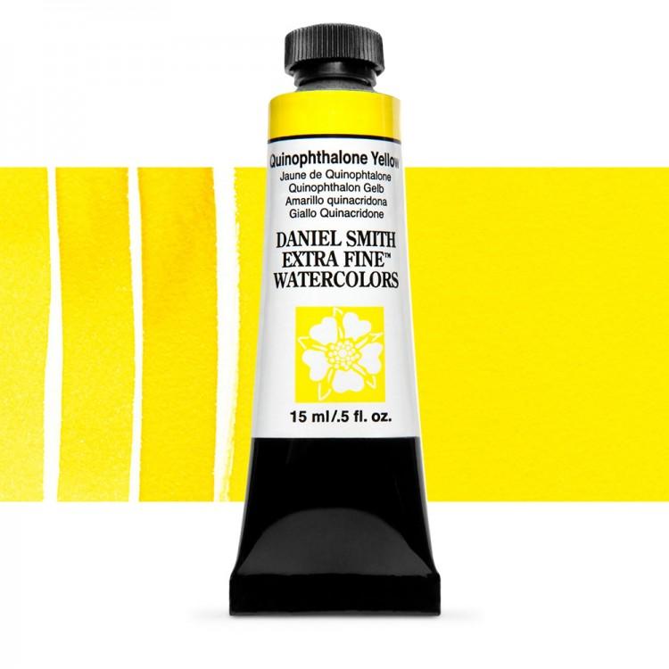 Daniel Smith : Watercolour Paint : 15ml : Quinophthalone Yellow : Series 3