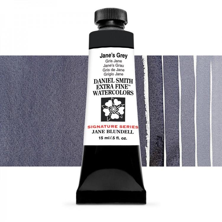 Daniel Smith : Signature Series Watercolour Paint : 15ml : Jane's Grey : Series 2
