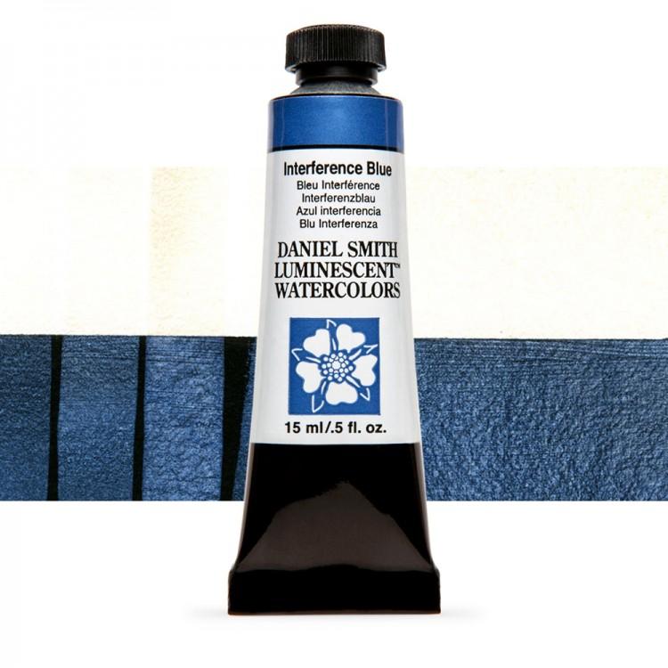Daniel Smith : Watercolour Paint : 15ml : Interference Blue : u Series 1