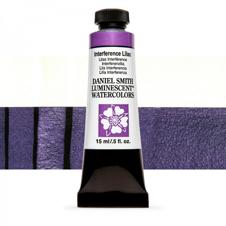 Daniel Smith : Watercolour Paint : 15ml : Interference Lilac : u Series 1