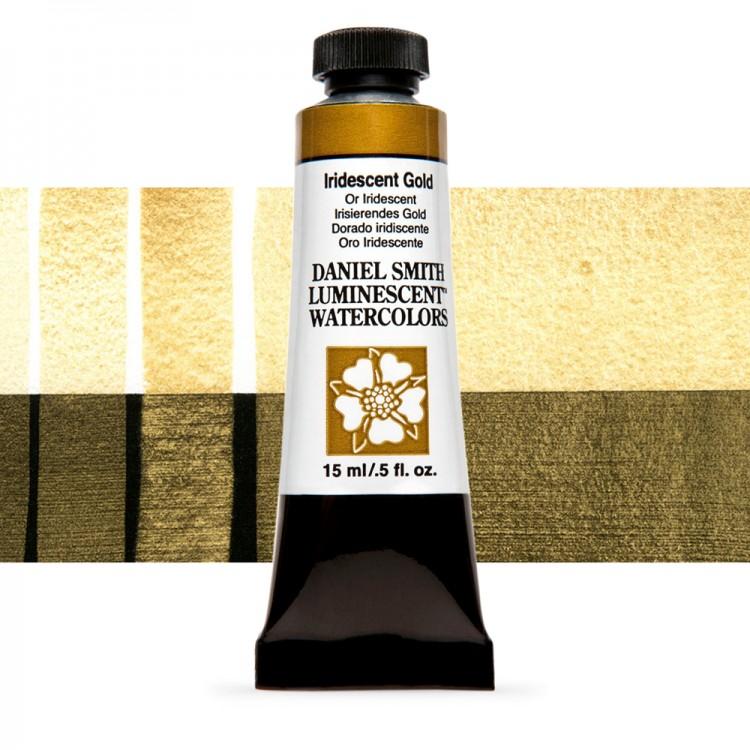 Daniel Smith : Watercolour Paint : 15ml : Iridescent Gold : u Series 1