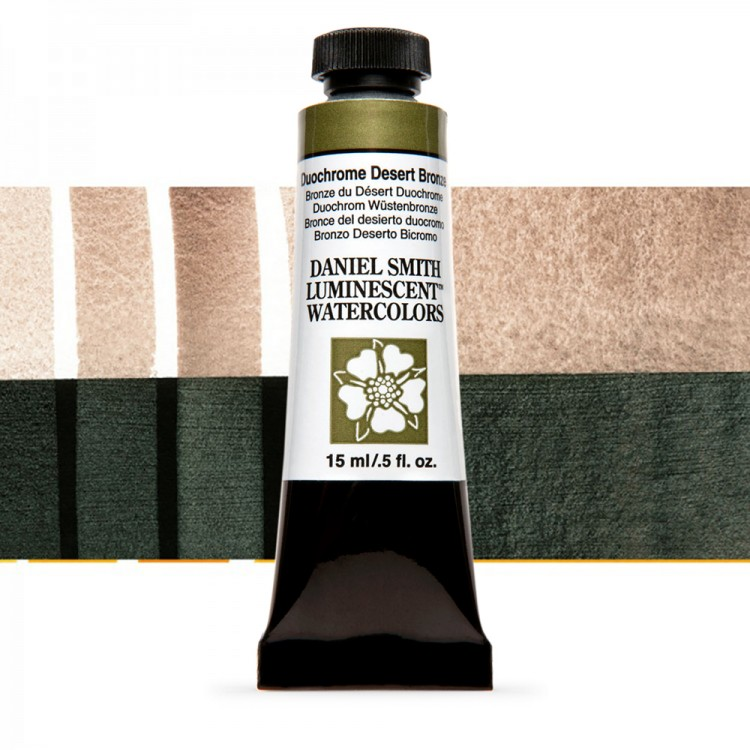 Daniel Smith : Watercolour Paint : 15ml : Duochrome Desert Bronze : u Series 1