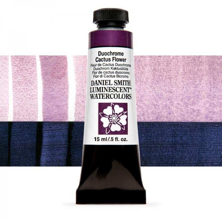 Daniel Smith : Luminescent Watercolour Paint : 15ml : Duochrome Cactus Flower : Series 1