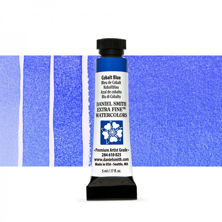 Daniel Smith : Watercolour Paint : 5ml : Cobalt Blue