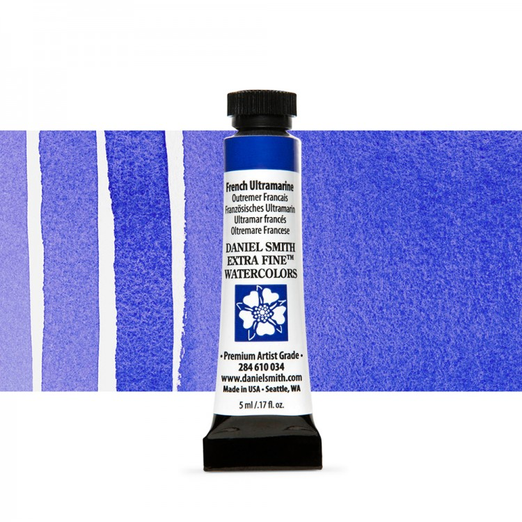 Daniel Smith : Watercolour Paint : 5ml : French Ultramarine