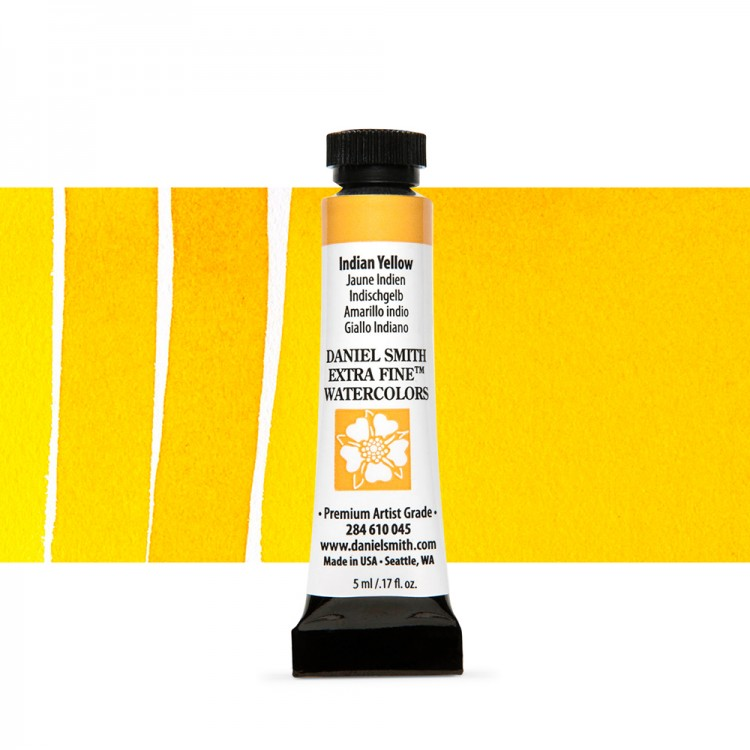 Daniel Smith : Watercolour Paint : 5ml : Indian Yellow