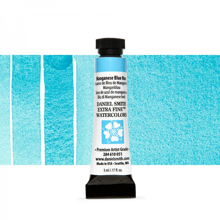 Daniel Smith : Watercolour Paint : 5ml : Manganese Blue Hue