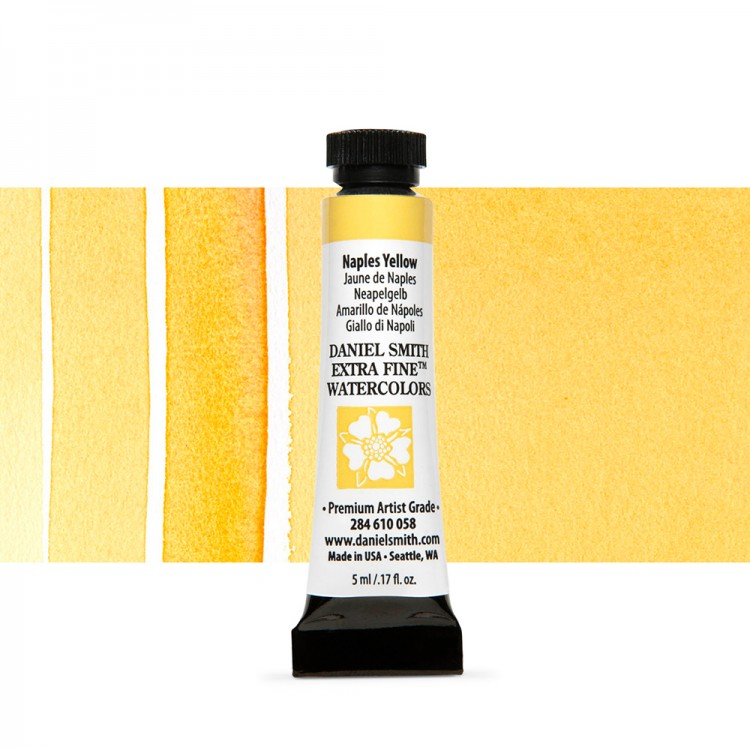 Daniel Smith : Watercolour Paint : 5ml : Naples Yellow