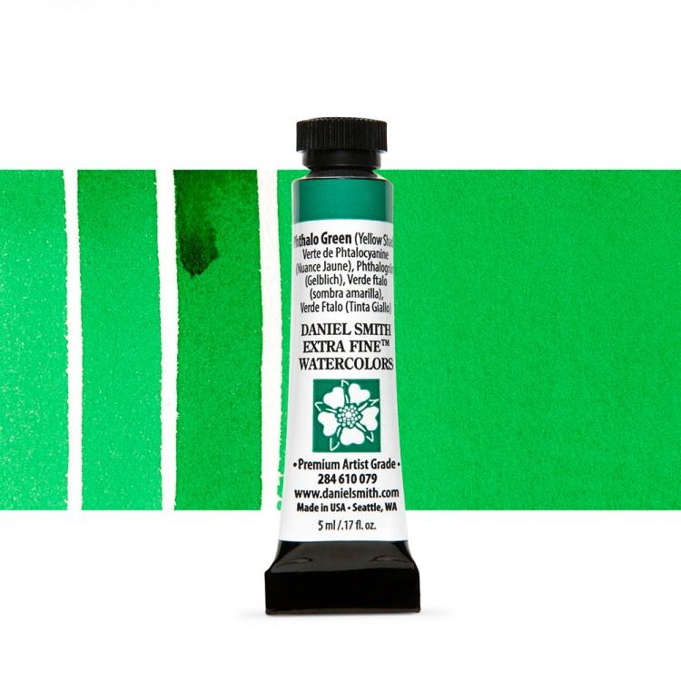 Daniel Smith : Watercolour Paint : 5ml : Phthalo Green (Yellow Shade)