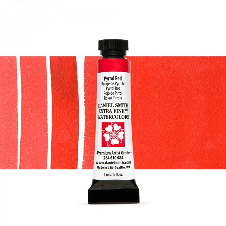 Daniel Smith : Watercolour Paint : 5ml : Pyrrol Red