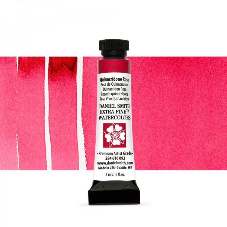 Daniel Smith : Watercolour Paint : 5ml : Quinacridone Rose