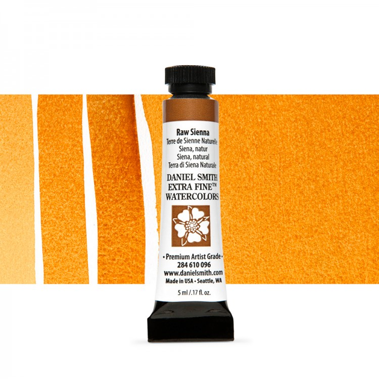 Daniel Smith : Watercolour Paint : 5ml : Raw Sienna