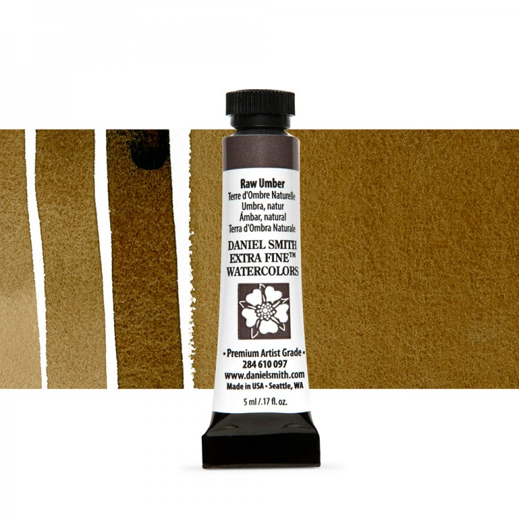 Daniel Smith : Watercolour Paint : 5ml : Raw Umber
