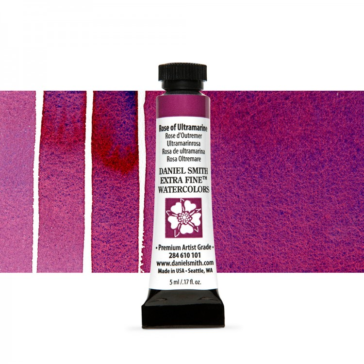Daniel Smith : Watercolour Paint : 5ml : Rose of Ultramarine