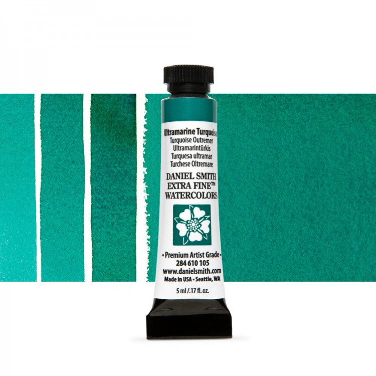 Daniel Smith : Watercolour Paint : 5ml : Ultramarine Turquoise