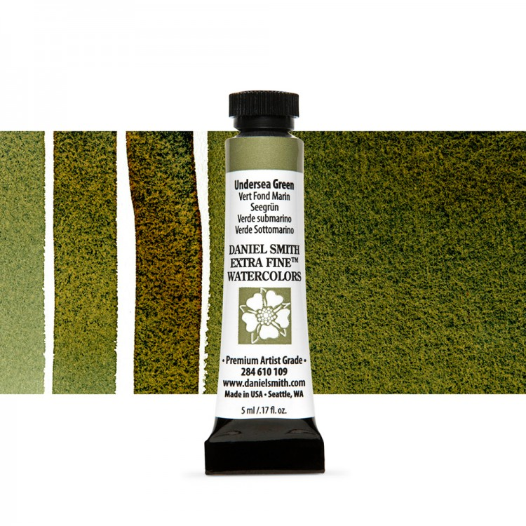 Daniel Smith : Watercolour Paint : 5ml : Undersea Green