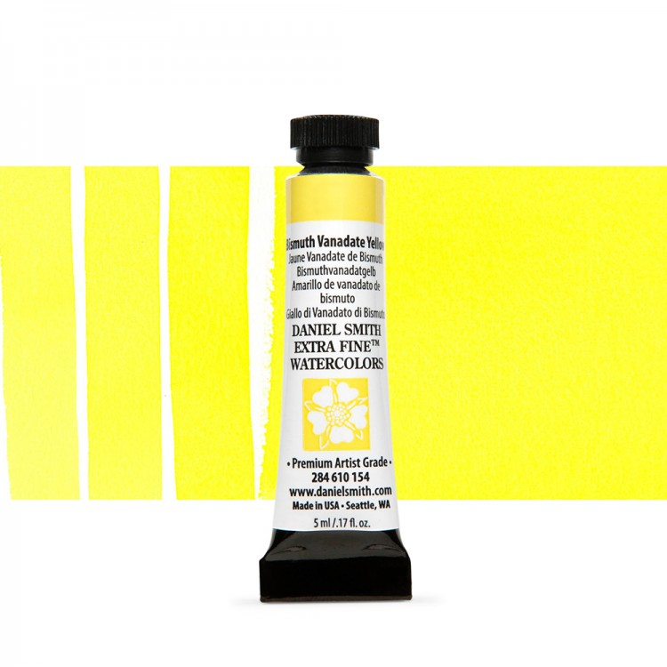 Daniel Smith : Watercolour Paint : 5ml : Bismuth Vanadate Yellow