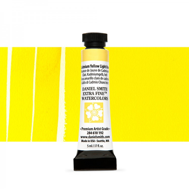 Daniel Smith : Watercolour Paint : 5ml : Cadmium Yellow Light Hue