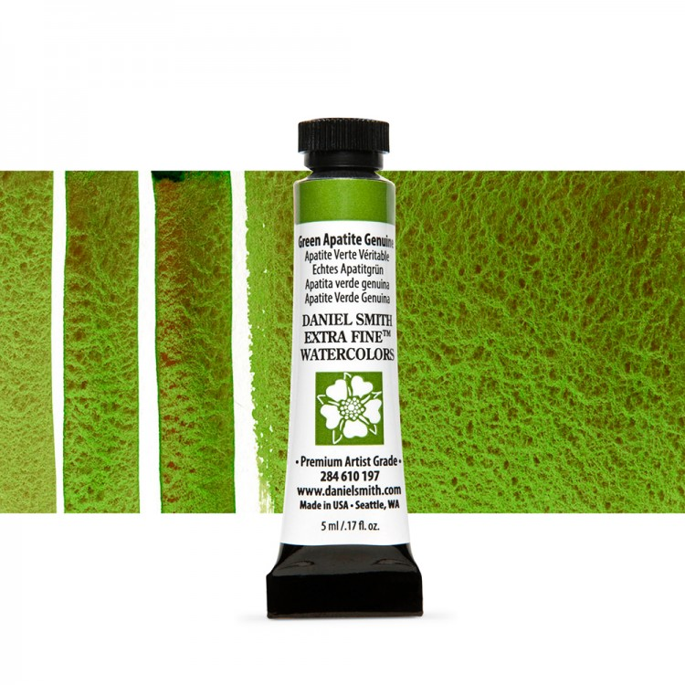 Daniel Smith : Primatek Watercolour Paint : 5ml : Green Apatite Genuine