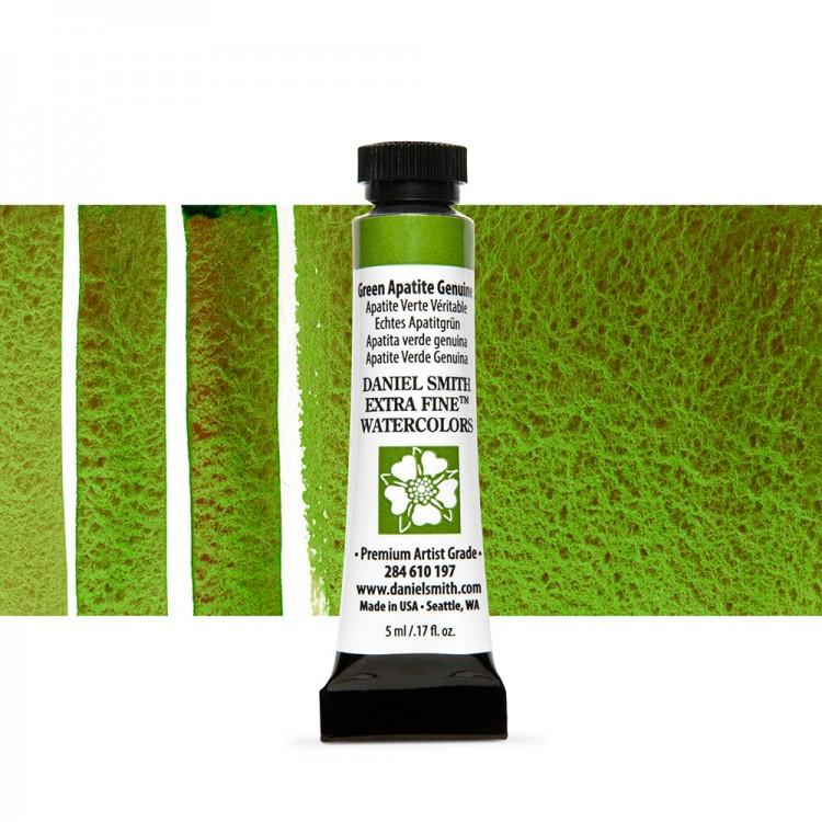 Daniel Smith : Watercolour Paint : 5ml : Green Apatite Genuine