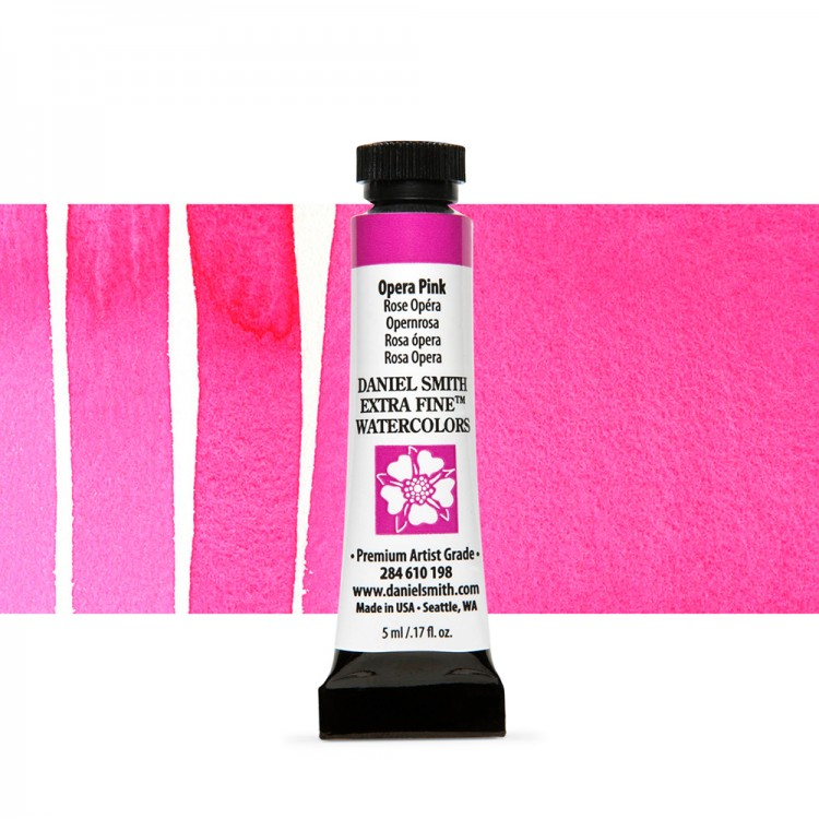 Daniel Smith : Watercolour Paint : 5ml : Opera Pink