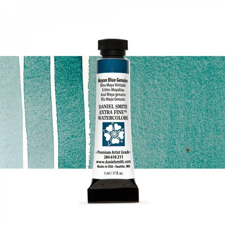 Daniel Smith : Watercolour Paint : 5ml : Mayan Blue Genuine