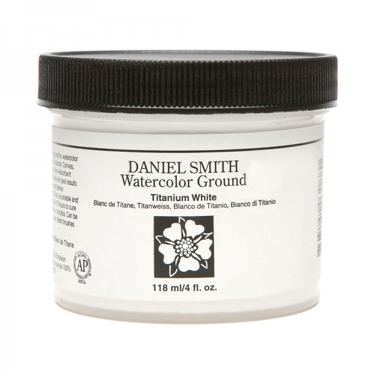 Daniel Smith : Watercolour Paint Ground : 118ml (4oz) : Titanium White