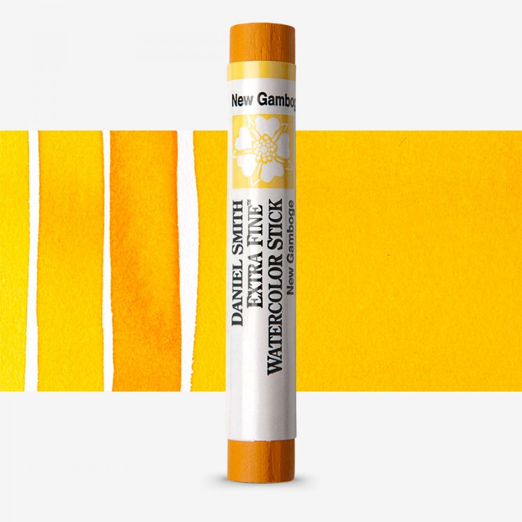 Daniel Smith : Watercolour Paint Sticks : New Gamboge