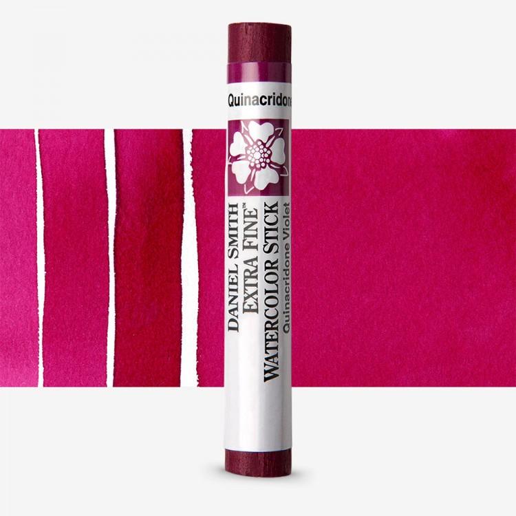 Daniel Smith : Watercolour Paint Sticks : Quinacridone Violet