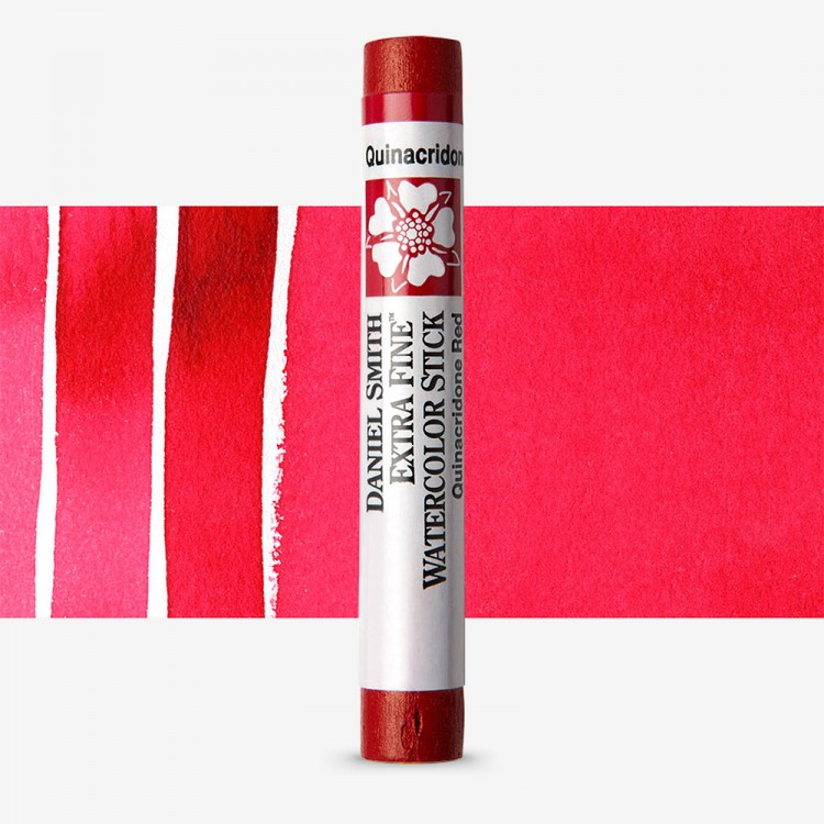 Daniel Smith : Watercolour Paint Sticks : Quinacridone Red