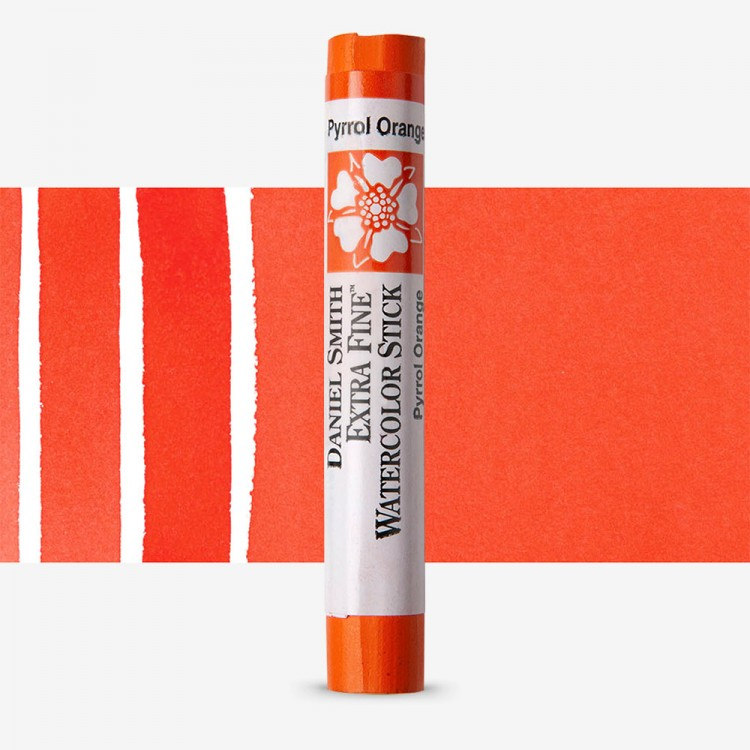 Daniel Smith : Watercolour Paint Stick : Pyrrol Orange