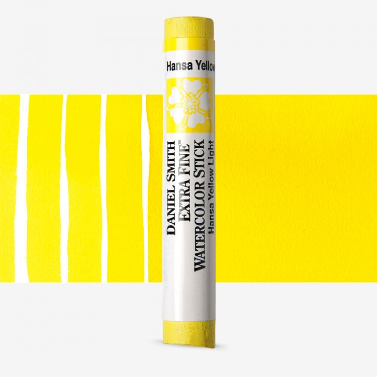 Daniel Smith : Watercolour Paint Stick : Hansa Yellow Light