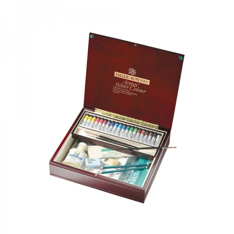 Daler Rowney : Artists' Watercolour Paint : Set : Luxury Set : 5ml : Set Of 20
