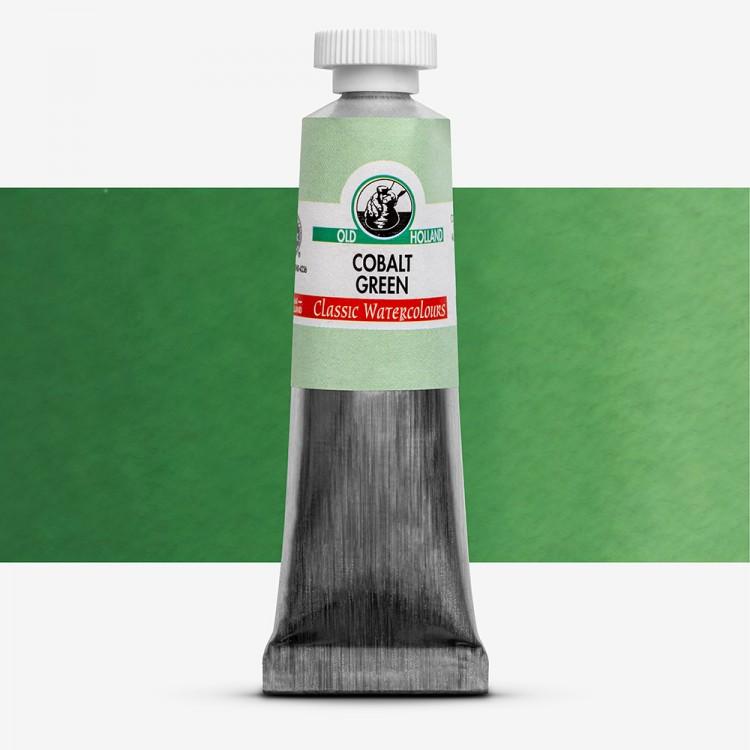 Old Holland : Watercolour Paint : 18ml : Cobalt Green